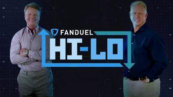 FanDuel Hi-Lo TV Spot, 'Week 6 Game Card' Featuring Boomer Esiason, Phil Simms