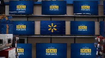 Walmart Black Friday Deals for Days TV Spot, 'Black Friday Deals'