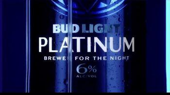Bud Light Platinum TV Spot, 'Brewed For The Night'