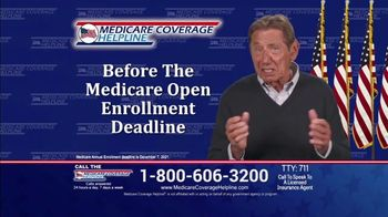 Medicare Coverage Helpline TV Spot, 'Important Medicare Deadline' Featuring Joe Namath