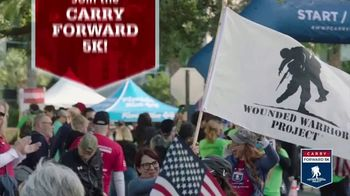 Wounded Warrior Project TV Spot, \'Carry Forward 5k: Flag, Fitness, Fierce\'