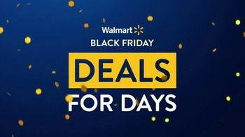 Walmart Black Friday Deals for Days TV Spot, 'Huge Deals: Chromebook, Robot Vaccuum and Rainbow High