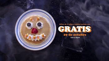 IHOP Scary Face Pancake TV Spot, 'Menú de Halloween' [Spanish]