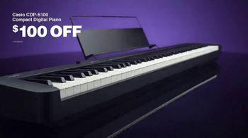 Guitar Center TV Spot, 'Labor Day: Casio Piano and Studio Monitors'