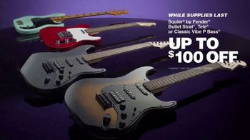 Guitar Center TV Spot, 'Labor Day: Fender Acoustic and Iconic Electrics'
