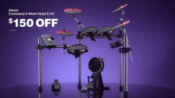 Guitar Center TV Spot, 'Labor Day: Aesis E-Kit and Pearl Drum Set'