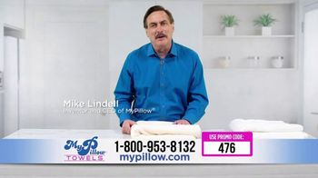 My Pillow Towels TV Spot, 'Commercial Interruption: Get Dry Faster' - 223 commercial airings