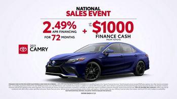 Toyota National Sales Event TV Spot, 'Occupational Hazard' [T2] - Thumbnail 6