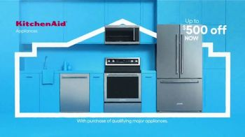 Lowe's TV Spot, 'Labor Day: KitchenAid and $500 Off'
