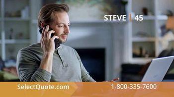 SelectQuote TV Spot, 'Steve: $28 a Month' - Thumbnail 3