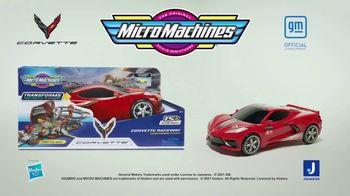 Micro Machines Corvette Raceway Playset TV Spot, 'Get Back to the Action' - Thumbnail 5