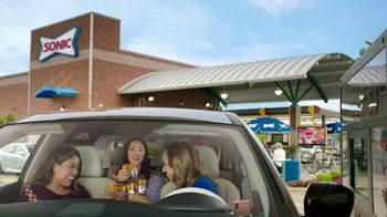 Sonic Drive-In Grilled Cheese Burger TV Spot, 'Cuadrado compacto' [Spanish]