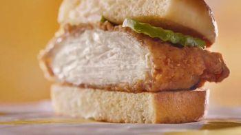 McDonald's Crispy Chicken Sandwich TV Spot, 'Perfect Ratio'