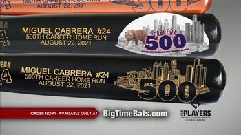 Big Time Bats TV Spot, 'Miguel Cabrera 500 Home Run Club' - Thumbnail 9
