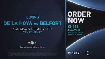 DIRECTV TV Spot, 'Triller Fight Club: De La Hoya vs. Belfort' - Thumbnail 7