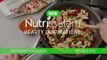 Nutrisystem Hearty Inspirations TV Spot, 'Feel Full and Satisfied: 50% Off All Plans'