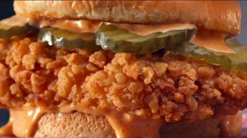 Jack in the Box Cluck Chicken Sandwich Combo TV Spot, 'Kind of a Fan: $5.99'