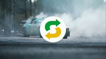 Subway TV Spot, 'We're Not Skidding Around' Featuring Kevin Harvick - Thumbnail 2
