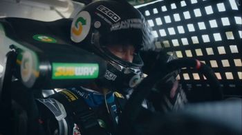 Subway TV Spot, 'We're Not Skidding Around' Featuring Kevin Harvick - Thumbnail 3