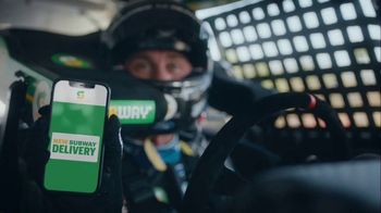 Subway TV Spot, 'We're Not Skidding Around' Featuring Kevin Harvick - Thumbnail 4