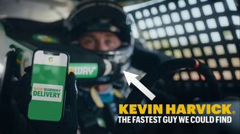 Subway TV Spot, 'We're Not Skidding Around' Featuring Kevin Harvick - Thumbnail 5