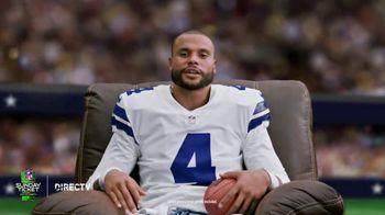 DIRECTV NFL Sunday Ticket TV Spot, 'Recliner: Every Game This Sunday' Featuring Dak Prescott - Thumbnail 4
