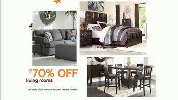 Ashley HomeStore Fall Semi-Annual Sale TV Spot, 'Up to  70% Off' - Thumbnail 2