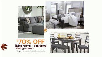 Ashley HomeStore Fall Semi-Annual Sale TV Spot, 'Up to  70% Off' - Thumbnail 3