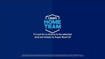Lowe's TV Spot, 'Home Team: Fire, Pride and Attention to Detail' Featuring Drew Brees - Thumbnail 10