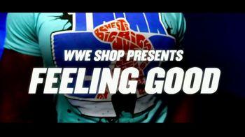 WWE Shop TV Spot, 'Feeling Good: Save 25% Off Championship Titles and 50% Off Tees' - Thumbnail 1