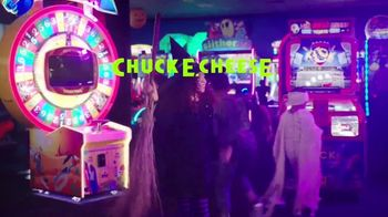 Chuck E. Cheese's Halloween Boo-Tacular TV Spot, 'Limited Free Game Play & New Shows'