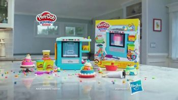 Play-Doh Kitchen Creations Rising Cake Oven Playset TV Spot, 'Ding' - Thumbnail 9