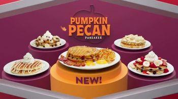 Denny's Pumpkin Pecan Pancake Breakfast TV Spot, 'Feels Like Fall'