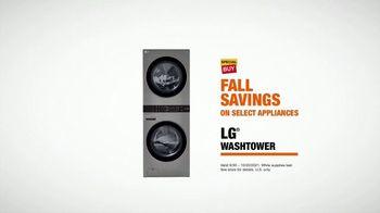 The Home Depot Fall Savings TV Spot, 'In Here: LG Washtower' - Thumbnail 9
