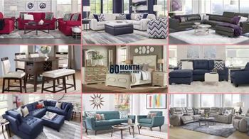 Rooms to Go 12 Day Fall Sale TV Spot, '60 Months Interest Free Financing' - Thumbnail 5