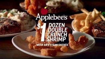 Applebee's Double Crunch Shrimp TV Spot, 'Any Steak Entree' Song by Barry White - Thumbnail 6