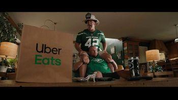 Uber Eats TV Spot, 'Shoulders' Featuring Fireman Ed