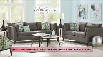 Rooms to Go Fall Sale TV Spot, 'Sofia Vergara Living Room Set'