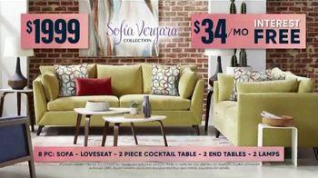 Rooms to Go Fall Sale TV Spot, 'Sofia Vergara Living Room Set' - Thumbnail 7