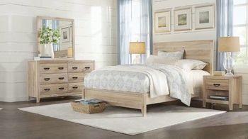 Rooms to Go Fall Sale TV Spot, 'Rustic Five-Piece Bedroom Set: $1,055'
