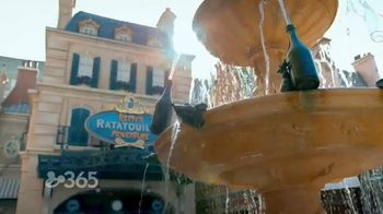 Disney World Remy's Ratatouille Adventure TV Spot, 'Rides and Scenery' Ft. Preston Oliver, Kyliegh Curran - Thumbnail 4