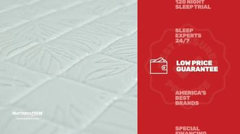 Mattress Firm TV Spot, 'Rest Assured Promise: Save $300 and $300 Gift' - Thumbnail 8