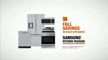The Home Depot Fall Savings TV Spot, 'In Here: Samsung Kitchen Package' - Thumbnail 9