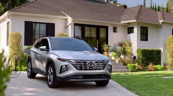 2022 Hyundai Tucson Plug-in Hybrid TV Spot, 'Gas Card' [T1]