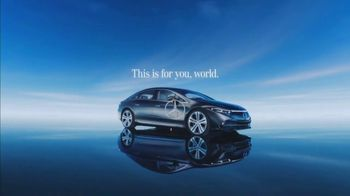 2022 Mercedes-Benz EQS TV Spot, 'The Arrival' Song by The EQS [T1]