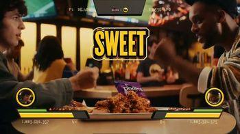 Buffalo Wild Wings Doritos Spicy Sweet Chili Wings TV Spot, 'Rock, Paper, Scissors' Feat. Josh Allen - Thumbnail 3