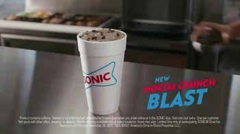 Sonic Drive-In Mocha Crunch Blast TV Spot, 'Order Up' - Thumbnail 6
