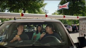 Sonic Drive-In Grilled Cheese Burger TV Spot, 'The Best Part of Being a Dad'