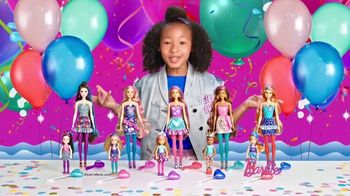 Barbie Color Reveal Party Series TV Spot, 'Shimmery Swirls'