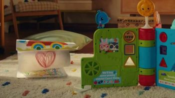 Fisher-Price Sit-to-Stand Giant Activity Book TV Spot, 'A New Book'
